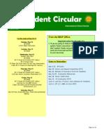 Student Circular May 15