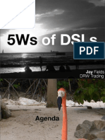 5Ws of DSLs