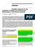 1997 WHO Nosocomial TB Guidelines