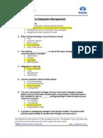 013 Integration_Management_2000 Questions Final