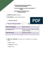 guía para sesion PSICOEDUCACION true