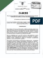 Decreto 1352 Del 26 de Junio de 2013