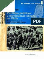 Angell 1972. Partidos políticos y movimiento obrero en Chile