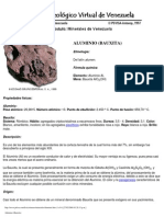 Aluminio (Bauxita)