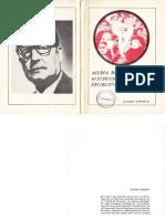 Eliecer Carrasco 1980. Acerca del desarrollo histórico del PS