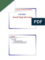Chapter 1-Gioi Thieu Hoa Ky Thuat MT