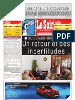 Le Soir d Algerie Du 17.07.2013