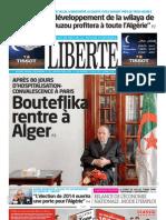 Liberte du 17.07.2013
