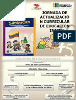 Jornada Actualizacion Curricular Educacion Inicial 2011