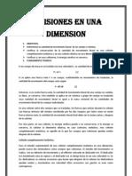 Colisiones en Una Dimension