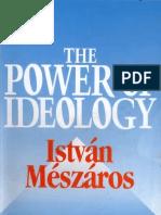 István Mészáros Power of Ideology  2005