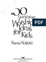 100 worship Ideas for Kids