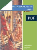 Libro de Cesar Becaria