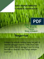 askep adnexitis