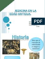 La Medicina en La Edad Antigua