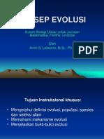 Sistematika &Evolusi-(KONSEP EVOLUSI)