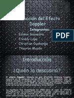 Deduccion Del Efecto Doppler