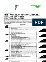 Mitsubishi F700 VFD Instruction Manual-Basic-Japanese Domestic