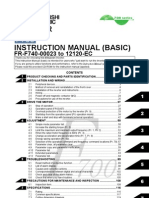 Mitsubishi F700 VFD Instruction Manual-Basic