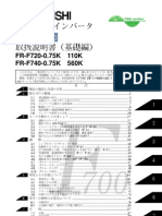 Mitsubishi F700 VFD Instruction Manual Japanese2