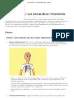 Como Aumentar sua Capacidade Respiratória - wikiHow