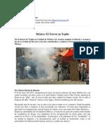 Art - México El Terror en Tepito RadioNederlan