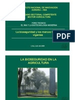 Bioseguridad- Marcos Legales Vigentes