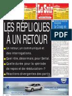 Le Soir d Algerie Du 18.07.2013