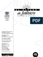 Ley de Ingresos Del Estado de Jalisco 2006