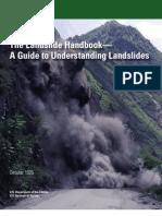The Landslide Handbook a Guide to Understanding Landslides