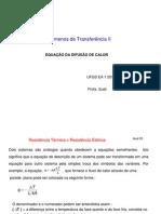 Aula 03 - Equação Difusão de Calor