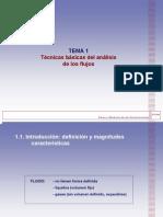 Tema 1 Tecnicas Basicas Del Analisis de Los Flujos