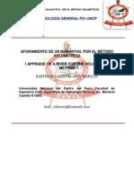 ARTÍCULO CIENTÍFICO DE AFORADOR MANATIAL JIMY