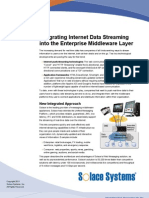 Web Messaging for Internet Data Streaming
