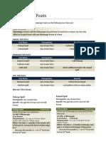 D&D 4th Edition, Metamagic Home Brew Rules.