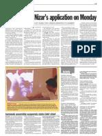 TheSun 2009-05-14 Page03 Court to Hear Nizars Application on Monday