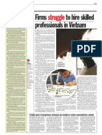 TheSun 2009-05-14 Page11 Firms Struggle to Hire Skilled Professionals in Vietnam
