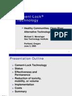 PH CementLock Presentation