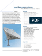 Datasheet Vertex Antenna 4.8m Cassegrain Ku Band