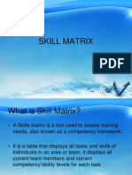 Skill Matrix full