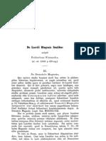 Nietzsche. de Laertii Diogenis Fontibus