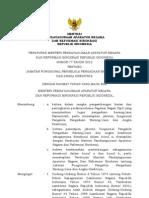 Permenpan No. 77 Tahun 2012 Tentang Jabfung Pengelola Pbj Dan Angka Kreditnya