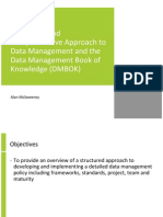 datainformationandknowledgemanagementframeworkandthedatamanagementbookofknowledgedmbok-100308121232-phpapp02