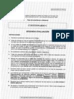Cuestionario C - Profesor de formación vial - Segunda evaluación