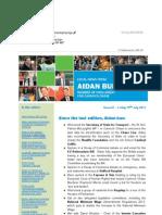 News Bulletin from Aidan Burley MP #67