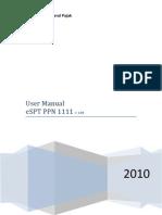 User Manual eSPT PPN 1111