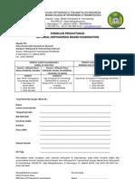 Form Pendaf Uj, Log Book, Rotasi