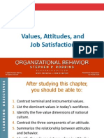 3. Values, Attitudes and Job Satisfaction