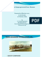 Venkataraman Biomass