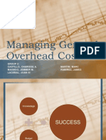 Managing General Overhead Costs Final Ppt